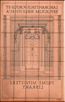 Artist Robert Austin: Prime Ministers Bookplate (small version)