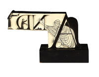 Artist Eric Gill: And, Initial letters for The Four Gospels, Golden Cockeriel Press, 1931