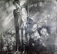 Artist Frank Brangwyn: 1st Station - Condemned to Death